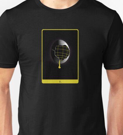 Space Egg Tarot Card Unisex T-Shirt