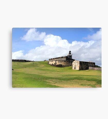 El Castillo Del Morro Canvas Print