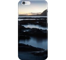 Sidmouth Rocks After Sunset Wallpaper iPhone Case/Skin