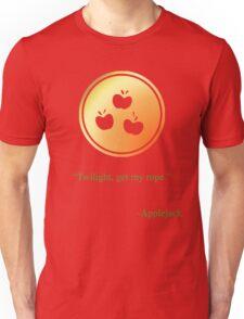 Apple Jack Emblem Unisex T-Shirt