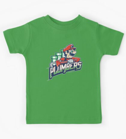 Brick City Plumbers Kids Tee