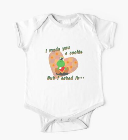 Yoshi Eated the Cookie One Piece - Short Sleeve