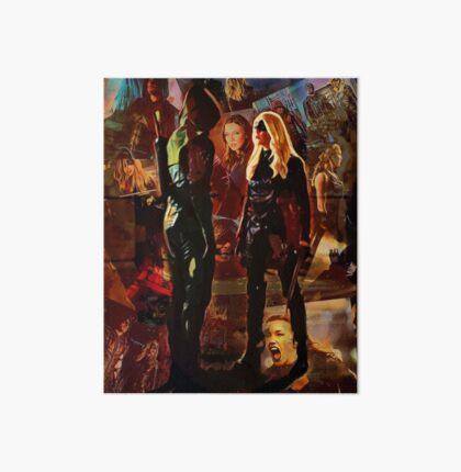 Black Canary & Green Arrow Art Board