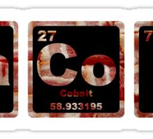 Bacon - Periodic Table - Photograph Sticker