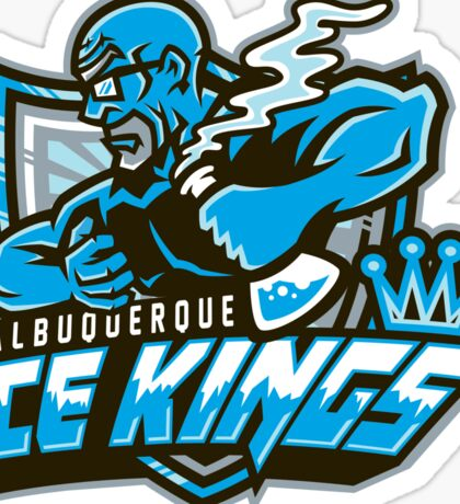 Albuquerque Ice kings Sticker