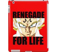 Majin Vegeta - Renegade For Life iPad Case/Skin