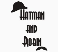 Hatman and Robin - Sherlock One Piece - Short Sleeve