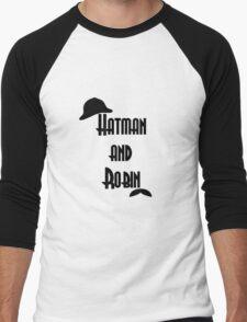 Hatman and Robin - Sherlock Men's Baseball ¾ T-Shirt