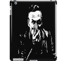 booth on black iPad Case/Skin