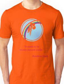 Rainbow Dash Emblem Unisex T-Shirt