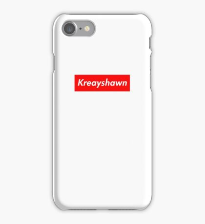 Kreayshawn Supreme Logo iPhone Case/Skin