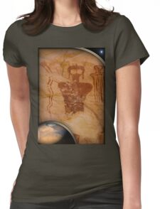 ancient mars Womens Fitted T-Shirt