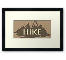 Hike Framed Print