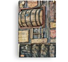 Steampunk Brewery Canvas Print