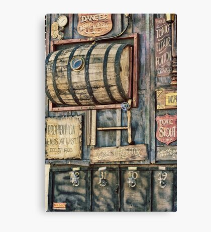 Steampunk Brewery Canvas Print