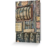 Steampunk Brewery Greeting Card