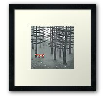 The Fox and the Forest Framed Print