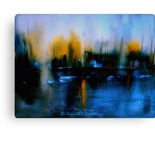 Evening... Canvas Print