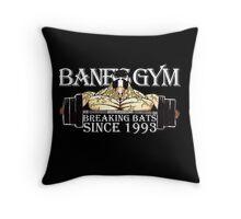 BANE'S GYM Throw Pillow