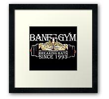 BANE'S GYM Framed Print