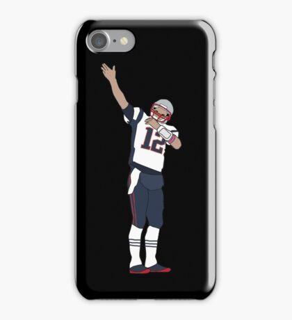 Tom Brady First Down v4 iPhone Case/Skin
