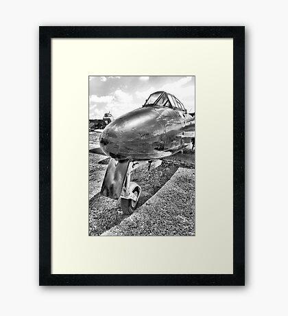 Gloster Meteor Fighter Jet Framed Print