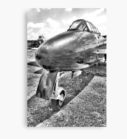 Gloster Meteor Fighter Jet Canvas Print