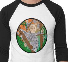 Planet Sloth  Men's Baseball ¾ T-Shirt