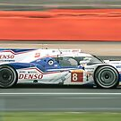 Toyota WEC Hibrid racing car by gregtoth85