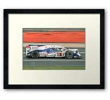 Toyota WEC Hibrid racing car Framed Print