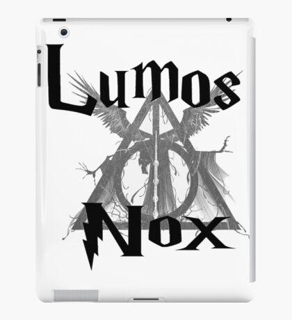Harry Potter Lumos Nox  iPad Case/Skin
