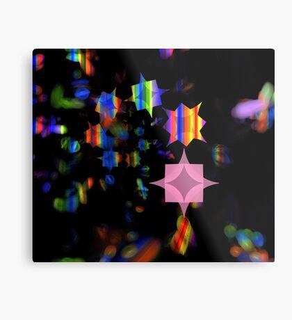 Prism Stars Metal Print