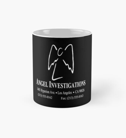 "Angel Investigations (From the series ""Angel"") ( Inverse colors) Mug"