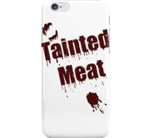 The Walking Dead Tainted Meat iPhone Case/Skin