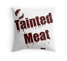 The Walking Dead Tainted Meat Throw Pillow