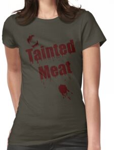 The Walking Dead Tainted Meat Womens Fitted T-Shirt