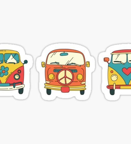 VW van sticker Sticker