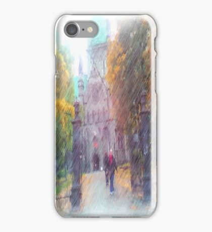 Nidaros photo paint iPhone Case/Skin
