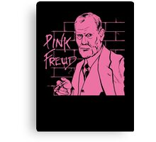 Pink Freud Psychiatry Canvas Print