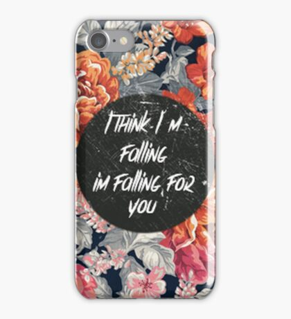The 1975- falling for you iPhone Case/Skin