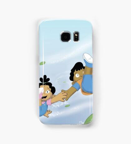 Winston and Marisol Magically Whisked away Samsung Galaxy Case/Skin