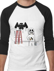 MARSHMELLO EDM MUSIC MELLOGANG Men's Baseball ¾ T-Shirt