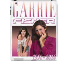 Carrie Fisher Retro Shirt iPad Case/Skin