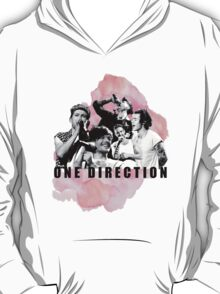 One Direction Watercolor! T-Shirt