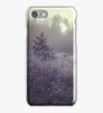 Winter Erinnerungen iPhone Case/Skin