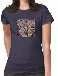 Sakura - Cherry Blossom - Kyoto Womens Fitted T-Shirt