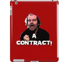 A CONTRACT! The Shining iPad Case/Skin