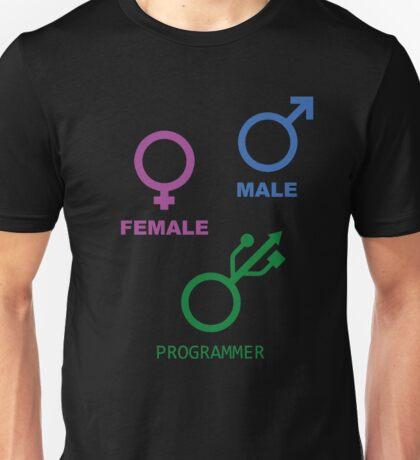 Programmer is my gender Unisex T-Shirt