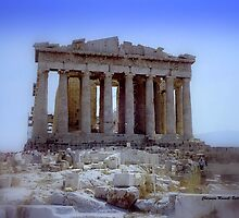 Parthenon 1990 by Charmiene Maxwell-batten