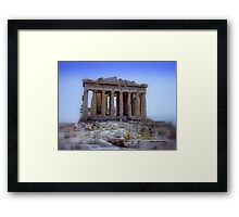 Parthenon 1990 Framed Print